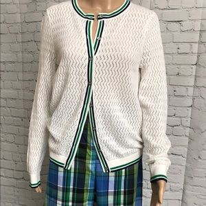 Lands End cotton cardigan